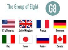 Le Groupe des Huit Photos libres de droits