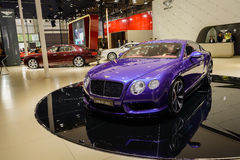 Le GT continental de Bentley, 2014 CDMS Image stock