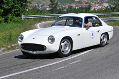 Le GT Zagato - l'indicateur argenté 2011 de Vernasca photo stock