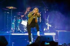 Le guano imite le concert Photo libre de droits