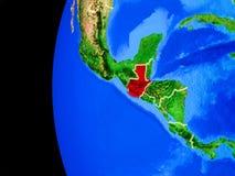 Le Guatemala de l'espace illustration libre de droits
