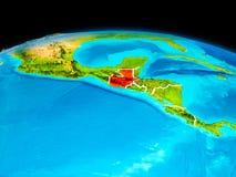 Le Guatemala en rouge Photos stock