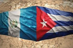 Le Guatemala et le Cuba illustration de vecteur