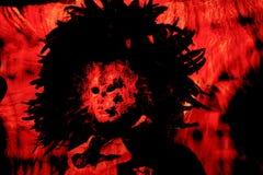 le guide du rouge de l'enfer image stock