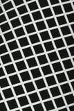 Le guingan moderne sans couture de pixel modèle la texture rythmique de fond géométrique noir et blanc Images stock