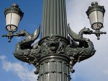 Détail de pont de Margaret à Budapest Photo libre de droits
