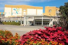 Le hall de concert et de congrès. Linkoping. Suède Photo stock