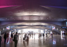 Le hall de gare ferroviaire des sud de Guangzhou Photo libre de droits