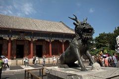 Le Hall de la bienveillance et de la longévité au palais d'été, Beij photo stock