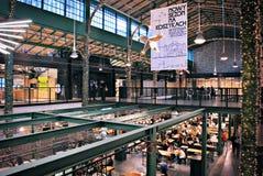 Le hall du marché d''Koszyki' Image libre de droits