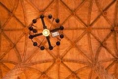 Le Hall du plafond en soie d'échange, Valence Photo stock