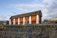 Le hangar Karlskrona de Wasa image libre de droits