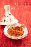 Le hanout d'EL de Ras est une préparation d'épice du Maroc Photo stock