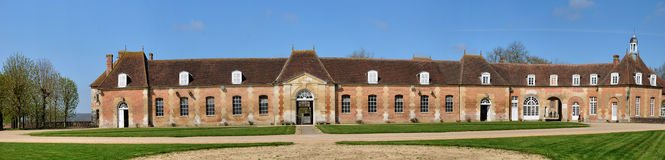 Le Haras National du Pin in Normandie Stock Image