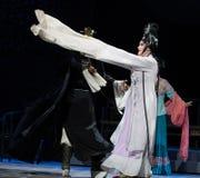 """Le harem impérial de longue danse de douille ou l'opéra de sérail-Jiangxi """"Red le  de pearl†Photos libres de droits"""