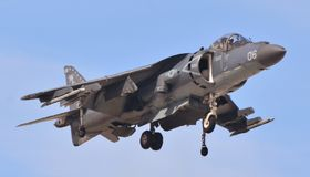 Le harrier de Marine Corps AV-8B sautent le jet photo stock