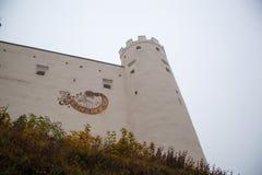 Le haut château du ¼ de FÃ ssen images stock