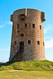Le Hocq, Jersey Coastal Tower Royalty Free Stock Images