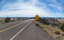 Le Hogsback, route 12 Images libres de droits
