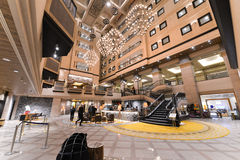 Le Hokkaido, Japon - 11 janvier 2017 : Kiroro est station de vacances de cinq étoiles Photo stock