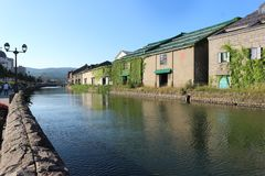 LE HOKKAIDO, JAPON - 30 JUILLET 2017 : regardez au canal d'Otaru, Hokkaido, Japon Photo stock