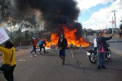 Le Honduras protestation march en janvier 2018 Tegucigalpa, Honduras 9 photos libres de droits