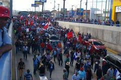 Le Honduras protestation march en janvier 2018 Tegucigalpa, Honduras 8 photo libre de droits