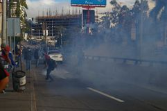 Le Honduras protestation march en janvier 2018 Tegucigalpa, Honduras 1 photo libre de droits