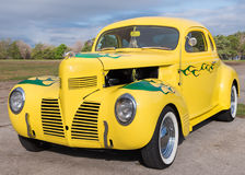 Le hot rod chez le Lonestar arrondissent  Photo stock