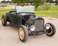Le hot rod chez le Lonestar arrondissent  Photos libres de droits