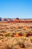 Le hub en vallée de monument, Utah, Etats-Unis Photo libre de droits