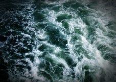 Le Hudson débordant Image libre de droits