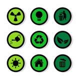 Le icone dei segni messe grandi per c'è ne usano Vettore eps10 Immagine Stock