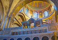 Le icone del mosaico Fotografia Stock