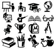 Le icone hanno fissato l'istruzione illustrazione vettoriale
