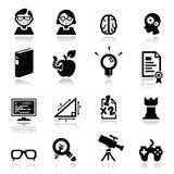 Le icone hanno impostato le nullità Immagine Stock
