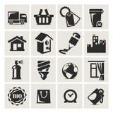 Le icone hanno messo la mobilia Immagine Stock Libera da Diritti