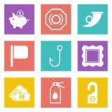 Le icone per web design hanno messo 14 Fotografia Stock Libera da Diritti