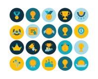 Le icone piane hanno messo 29 Fotografia Stock
