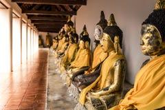 Le immagini di Buddha hanno messo l'immagine a sedere di Buddha Fotografia Stock Libera da Diritti