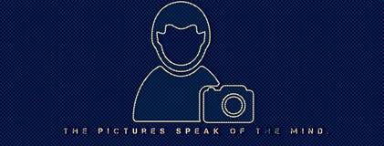 Le immagini parlano della mente immagini stock libere da diritti