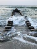 Le impressioni dell'acqua fotografia stock libera da diritti