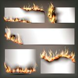 Le insegne strategiche della pubblicità del fuoco caldo hanno messo per l'attrazione dei clienti alle vendite a ribasso stagional illustrazione di stock