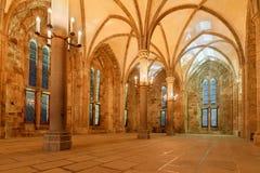 Le interno Mont Saint-Michel Fotografia Stock