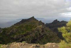 Le isole Canarie di Tenerife Fotografia Stock Libera da Diritti