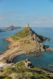 Le isole di Sanguinaires, in Corsica (Francia) immagini stock