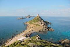 Le isole di Sanguinaires, in Corsica (Francia) fotografia stock