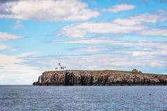 Le isole Farne interno di Farne Fotografia Stock Libera da Diritti