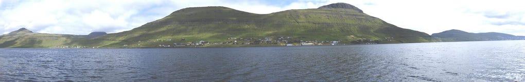 Le isole faroe Immagine Stock