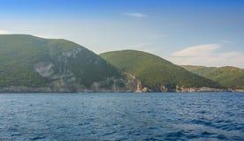 Le Isole Ionie di Zacinto Fotografia Stock